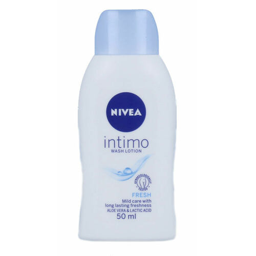 Nivea Intimo Intimate Wash Lotion Fresh intimní kosmetika 50 ml pro ženy