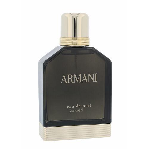 Giorgio Armani Eau de Nuit Oud EDP 100 ml pro muže