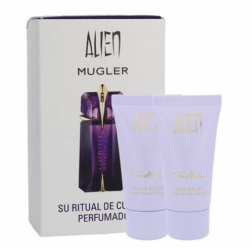 Thierry Mugler Alien tělové mléko tělové mléko 30 ml + sprchový gel 30 ml pro ženy