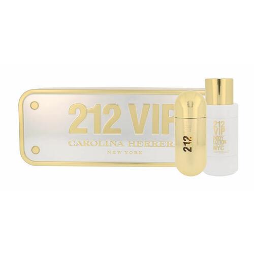 Carolina Herrera 212 VIP EDP EDP 80 ml + tělové mléko 200 ml pro ženy