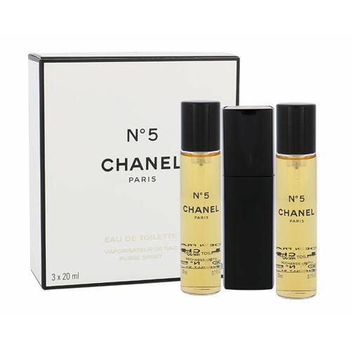 Chanel No.5 EDT 20 ml Twist and Spray pro ženy