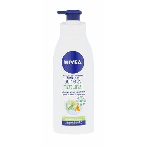 Nivea Pure & Natural tělové mléko 400 ml pro ženy