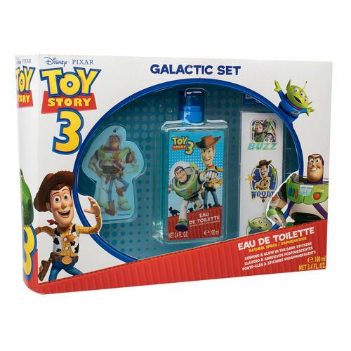 Disney Toy Story 3 EDT EDT 100 ml + klíčenka + svítící samolepky ve tmě Poškozená krabička Unisex