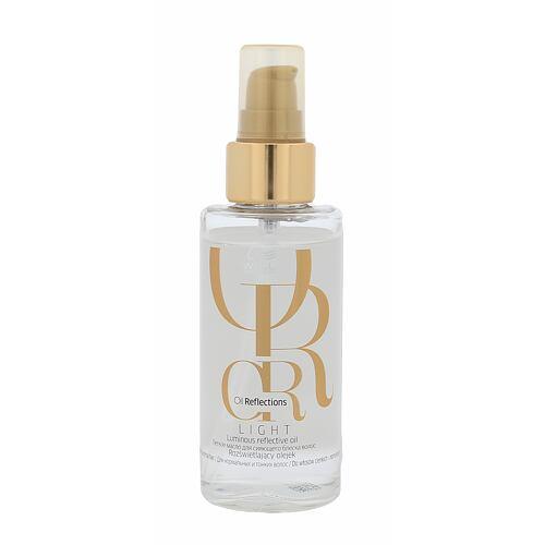 Wella Oil Reflections Luminous Reflective Oil olej a sérum na vlasy 100 ml pro ženy