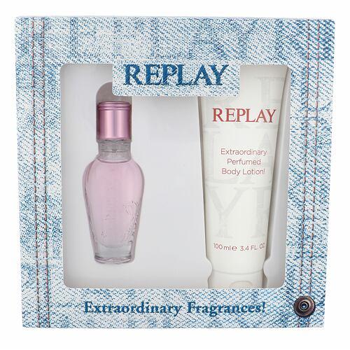Replay Jeans Spirit! For Her EDT EDT 20 ml + tělové mléko 100 ml pro ženy