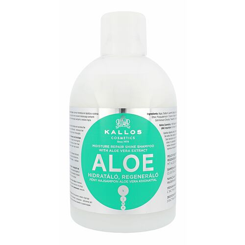 Kallos Cosmetics Aloe Vera šampon 1000 ml pro ženy