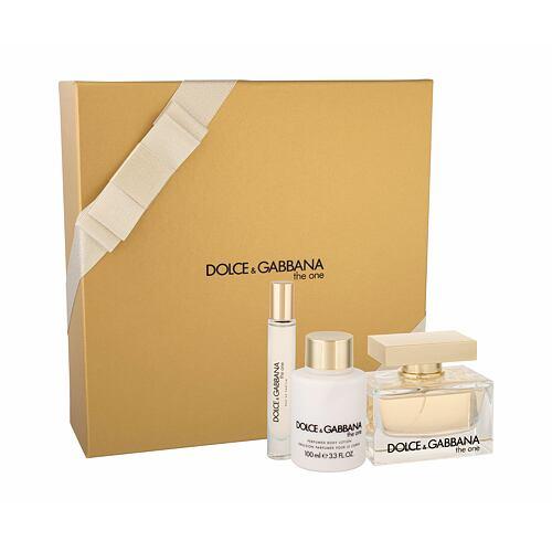 Dolce&Gabbana The One EDP EDP 75 ml + tělové mléko 100 ml + EDT 7,4 ml pro ženy