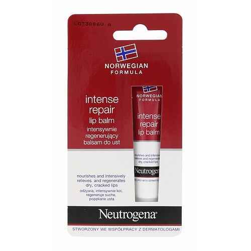 Neutrogena Norwegian Formula Intense Repair balzám na rty 15 ml pro ženy