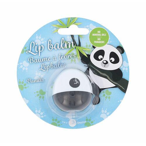 2K Animal Lip Balm Panda balzám na rty 11 g pro ženy