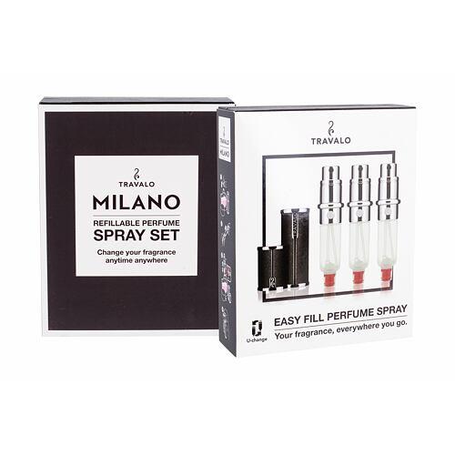 Travalo Milano plnitelný flakón 3x5 ml Unisex