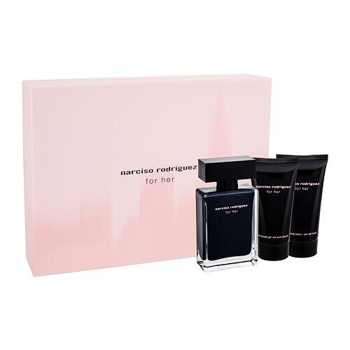 Narciso Rodriguez For Her EDT EDT 50 ml + tělové mléko 50 ml + sprchový gel 50 ml pro ženy