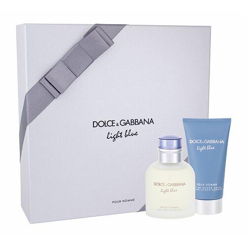 Dolce&Gabbana Light Blue Pour Homme EDT EDT 75 ml + balzám po holení 75 ml pro muže