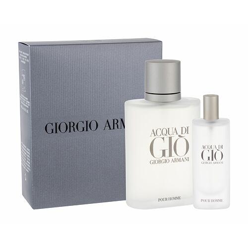 Giorgio Armani Acqua di Gio Pour Homme EDT EDT 100 ml + EDT 15 ml pro muže