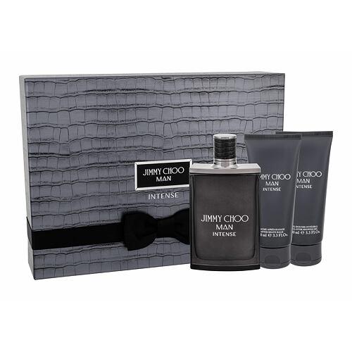 Jimmy Choo Jimmy Choo Man Intense EDT EDT 100 ml + sprchový gel 100 ml + balzám po holení 100 ml pro muže