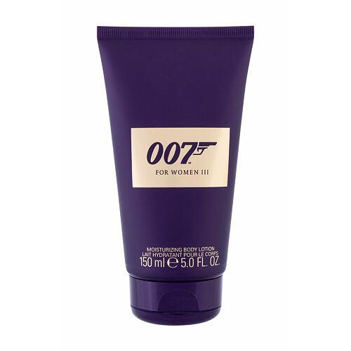 Tělové mléko James Bond 007 James Bond 007 For Women III 150 ml