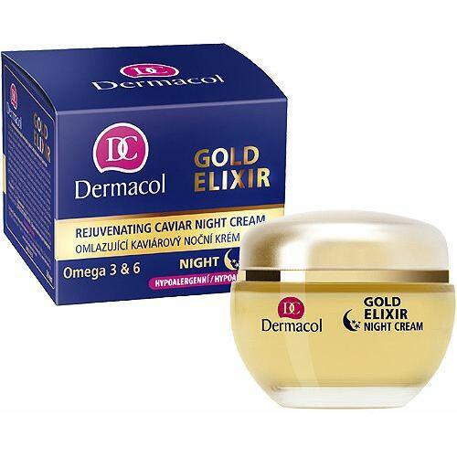 Dermacol Gold Elixir noční pleťový krém 50 ml pro ženy
