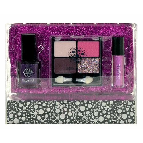 Makeup Trading Glitter Fuchsia dekorativní kazeta Complete Makeup Palette pro ženy
