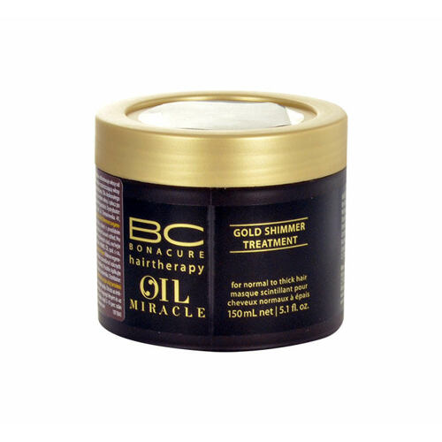 Schwarzkopf BC Bonacure Oil Miracle Gold Shimmer Treatment maska na vlasy 150 ml pro ženy