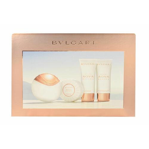 Bvlgari Aqva Divina EDT EDT 65 ml + tělové mléko 100 ml + sprchový gel 100 ml + mýdlo 150 g pro ženy