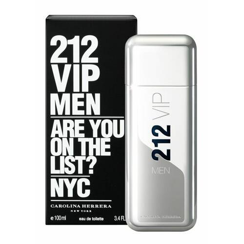 Carolina Herrera 212 VIP Men EDT 200 ml Poškozená krabička pro muže