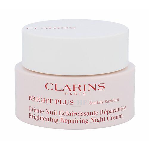 Clarins Bright Plus HP noční pleťový krém 50 ml Tester pro ženy