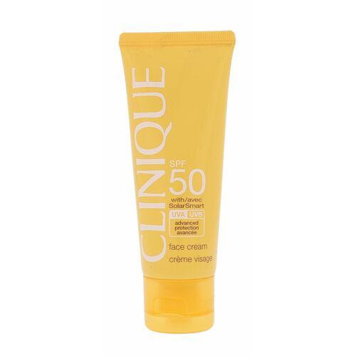 Clinique Sun Care opalovací přípravek na obličej 50 Tester pro ženy