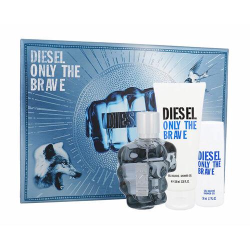 Diesel Only The Brave EDT EDT 75 ml + sprchový gel 100 ml + sprchový gel 50 ml pro muže