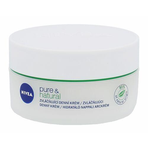 Nivea Pure & Natural denní pleťový krém 50 ml pro ženy