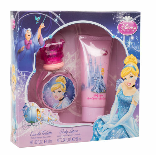 Disney Princess Cinderella EDT EDT 30 ml + tělové mléko 60 ml Unisex