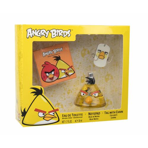 Angry Birds Angry Birds Yellow Bird EDT EDT 50 ml + poznámkový blok + přívěšek na krk Unisex