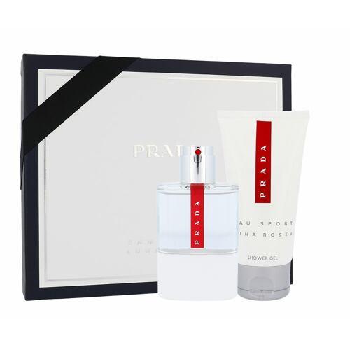 Prada Luna Rossa Eau Sport EDT EDT 75 ml + sprchový gel 75 ml pro muže