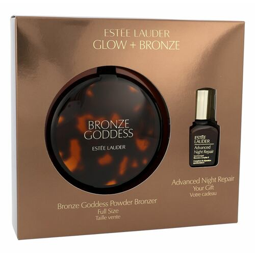 Estée Lauder Bronze Goddess bronzer bronzer 21 g + pleťové sérum Advanced Night Repair Synchro Recovery Complex II 15 ml pro ženy