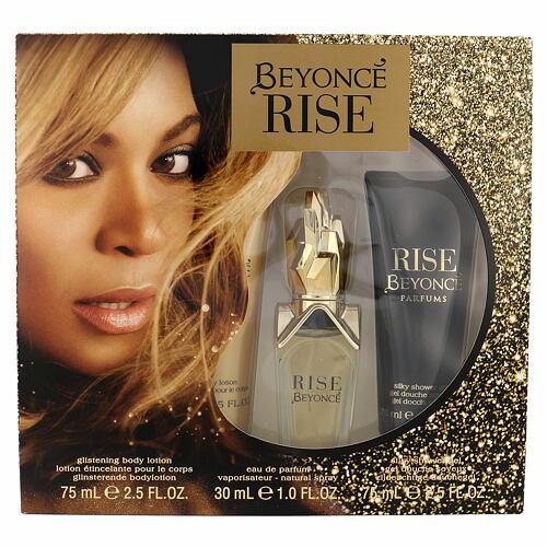 Beyonce Rise EDP EDP 30 ml + tělové mléko 75 ml + sprchový gel 75 ml pro ženy