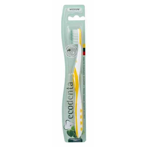Ecodenta Toothbrush Medium zubní kartáček 1 ks Unisex