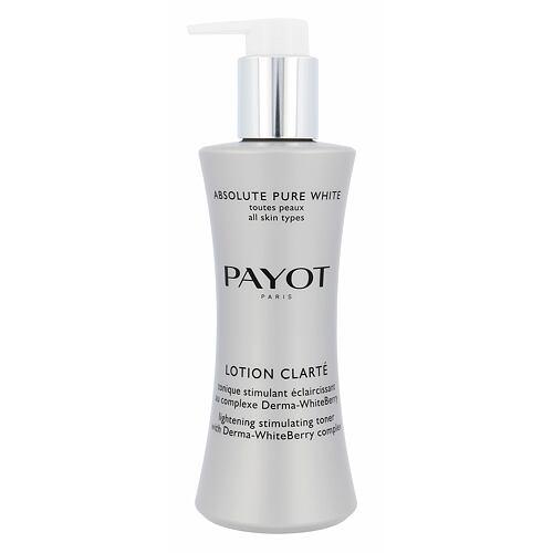 PAYOT Absolute Pure White Lotion Clarte Lighening Toner čisticí voda 200 ml pro ženy