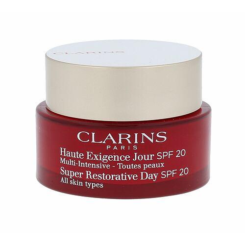 Clarins Age Replenish Super Restorative Day SPF20 denní pleťový krém 50 ml pro ženy