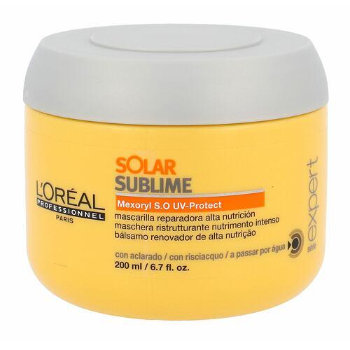 L´Oréal Professionnel Série Expert Solar Sublime maska na vlasy 200 ml pro ženy