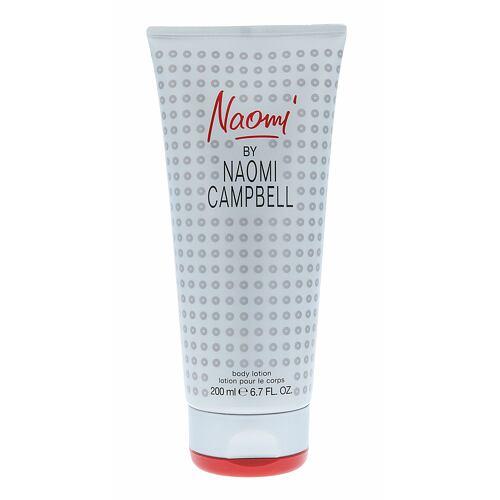 Naomi Campbell Naomi tělové mléko 200 ml pro ženy