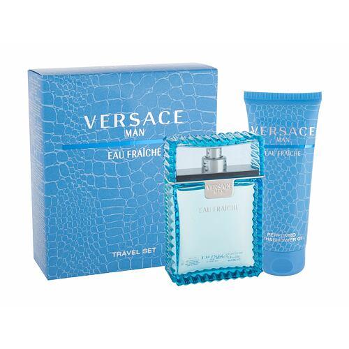 Versace Man Eau Fraiche EDT EDT 100 ml + sprchový gel 100 ml pro muže