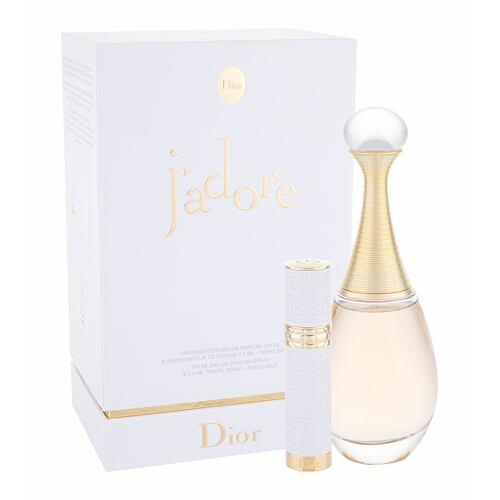 Christian Dior J´adore EDP EDP 100 ml + EDP naplnitelný travel spray 7,5 ml pro ženy