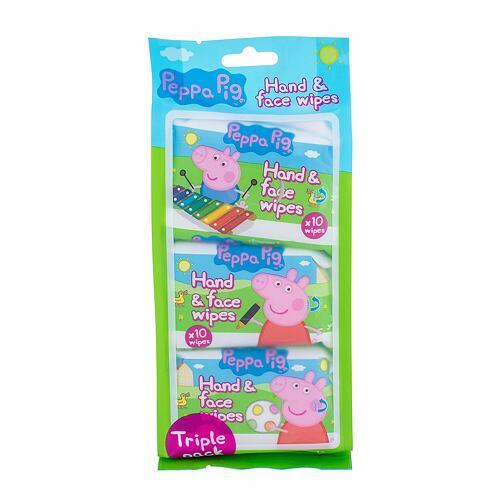 Peppa Pig Peppa Hand & Face Wipes čisticí ubrousky 30 ks Unisex