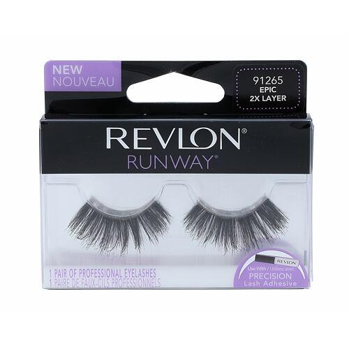 Revlon Runway Epic 2X Layer umělé řasy 1 ks pro ženy