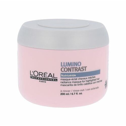 L´Oréal Professionnel Série Expert Lumino Contrast maska na vlasy 200 ml pro ženy