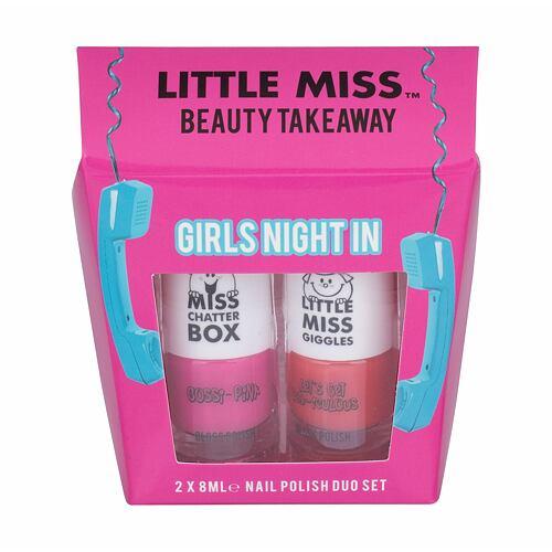 Little Miss Little Miss Beauty Takeaway lak na nehty lak na nehty 8 ml + lak na nehty 8 ml Let´s Get Red-iculous Unisex