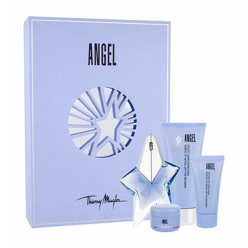 Thierry Mugler Angel EDP EDP 25 ml + tělové mléko 100 ml + sprchový gel 30 ml + tělový krém 15 ml Naplnitelný pro ženy