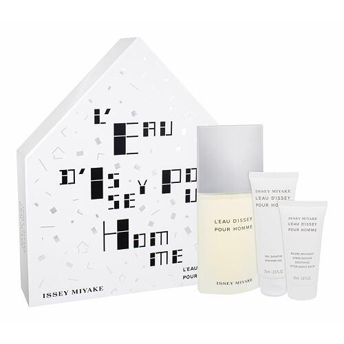 Issey Miyake L´Eau D´Issey Pour Homme EDT EDT 125 ml + sprchový gel 75 ml + balzám po holení 50 ml pro muže