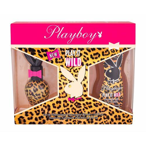Playboy Play It Wild For Her EDT EDT 30 ml + sprchový gel 250 ml pro ženy