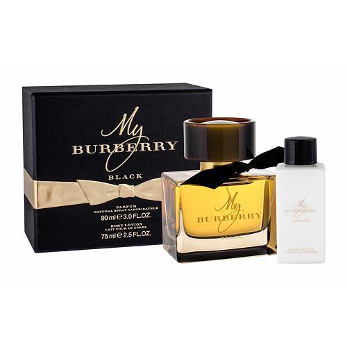 Burberry My Burberry Black parfém parfém 90 ml + tělové mléko 75 ml pro ženy