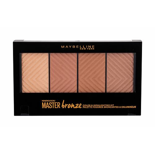 Bronzer Maybelline Master Bronze Color & Highlighting Kit