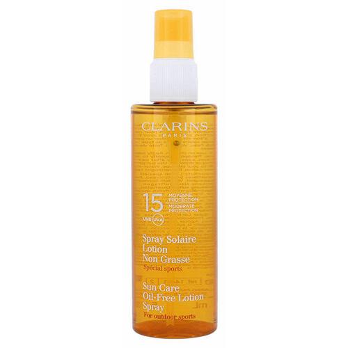 Clarins Sun Care Spray Oil Free Lotion opalovací přípravek na tělo 150 ml pro ženy